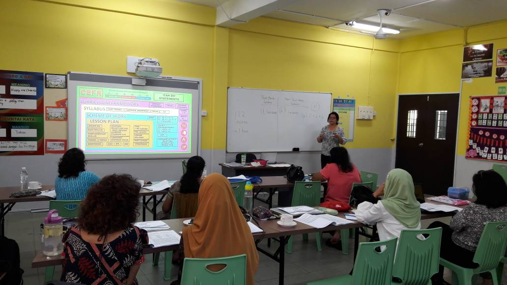 CEFR Curriculum Induction